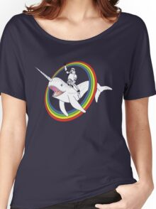 Narwhal Rainbow Stormtrooper Women's Relaxed Fit T-Shirt