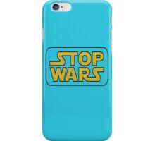stop war iPhone Case/Skin