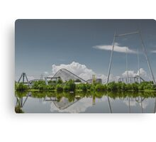 Reflections of the Past Canvas Print