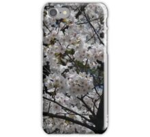 White Blossoms iPhone Case/Skin