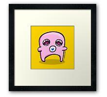 Pink Double Screamer Framed Print