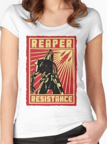 Geth Resistance Women's Fitted Scoop T-Shirt