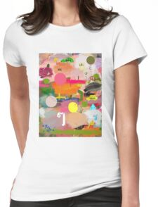 messages 013 Womens Fitted T-Shirt