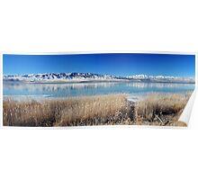 Utah Lake - First Ice Poster