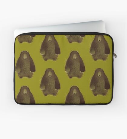 Barnsley the Big Bear. Laptop Sleeve