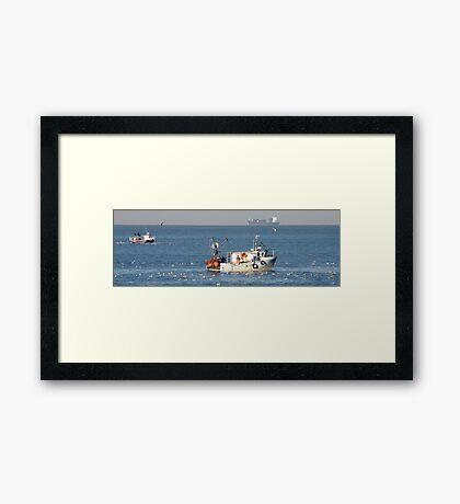 Ship Ahoy 11 ! Framed Print