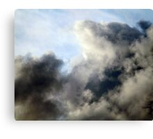 Beneath our atmospheric layer Canvas Print