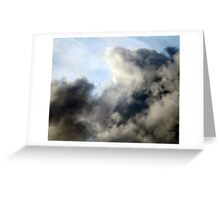 Beneath our atmospheric layer Greeting Card