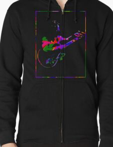 Psychedelic Freak Out Zipped Hoodie
