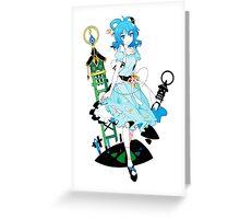 Touhou - Seiga Kaku Greeting Card