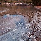 Namoi River in flood by John Vandeven