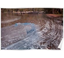 Namoi River in flood Poster