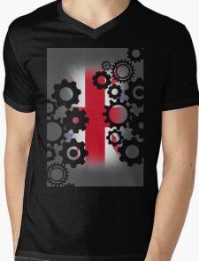 Steampunk UK Mens V-Neck T-Shirt