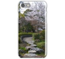 Paths in the Park iPhone Case/Skin