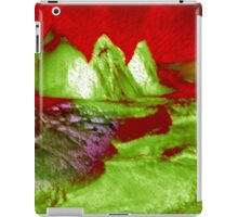 Love Can Move Mountains-abstract 121- Art + Products Design  iPad Case/Skin