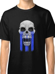 Weeping Skull Classic T-Shirt