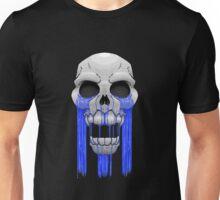 Weeping Skull Unisex T-Shirt