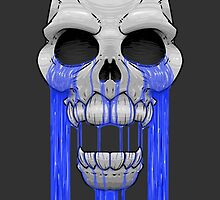Weeping Skull by crabro