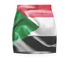Sudan Flag Mini Skirt