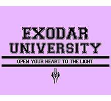 Exodar University Photographic Print