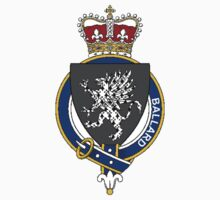 Coat of arms (family crest) for last-name or surname Ballard (England) . Heraldry banner for your name. by rita24