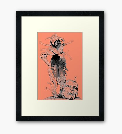 Monster Hunter Framed Print