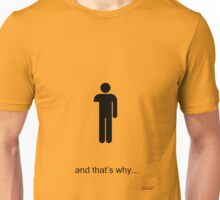 Arrested Development One Armed Man Unisex T-Shirt