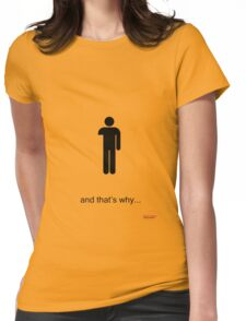 Arrested Development One Armed Man Womens Fitted T-Shirt