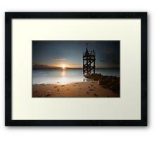 West Beach Framed Print
