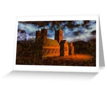Lincoln Cathedral by Sarah Kirk Greeting Card