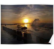 Dawn - Merewether Beach Poster