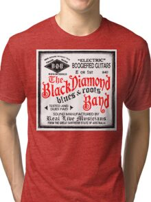 Black Diamond (white label) Tri-blend T-Shirt
