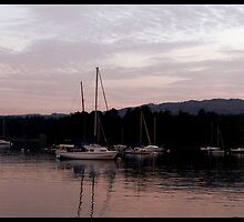 Warm Tones at Ambleside  by Michelle Booth