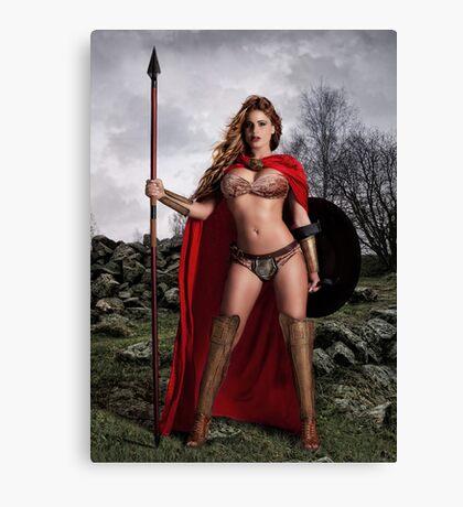 I Am Spartan Canvas Print