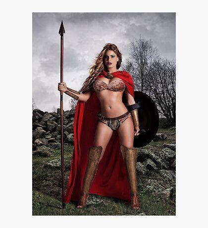 I Am Spartan Photographic Print