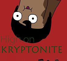 Derpy Superman - High On Kryptonite by florisdr