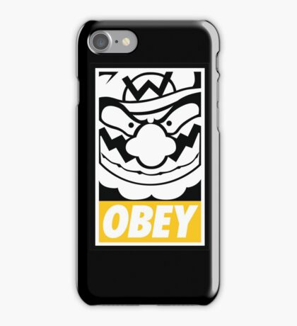 OBEY WARIO iPhone Case/Skin