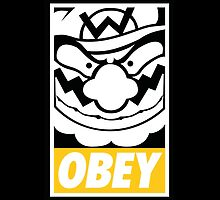 OBEY WARIO by Steven Reeves