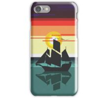 The Black Vector | Pirate Ship iPhone Case/Skin