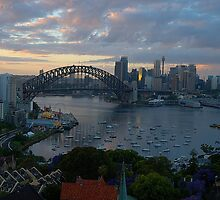 Light & Shadow, Sydney Harbour, Sydney Australia - The HDR Experience by Philip Johnson