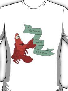 sebastian- the little mermaid T-Shirt