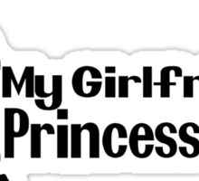 My girlfriend is Princess Peach - Nintendo Sticker