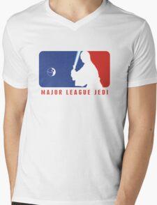 Major League Jedi Mens V-Neck T-Shirt