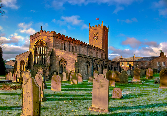 St Oswald's Church - Asgrigg  (HDR) by Trevor Kersley