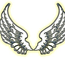 ANGEL, Wings, angelology, Flight, Fly, Angel, Angelic, Air Force, Jets by TOM HILL - Designer