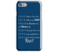 Doctor's Rhymes iPhone Case/Skin