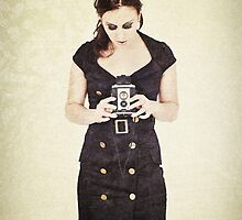 Vintage Camera User by Sharonroseart