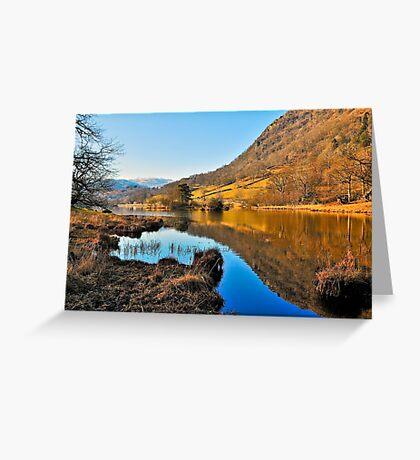 Rydal Water Views Greeting Card