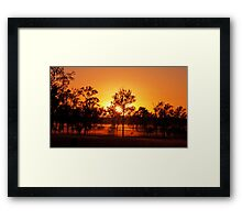 Aratula Sunrise Framed Print