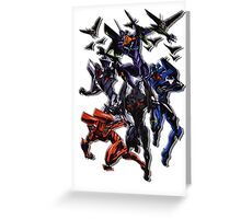 MECHA EVANGELION Greeting Card